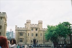 A portion of the building where the Crown Jewels are displayed Wallpaper