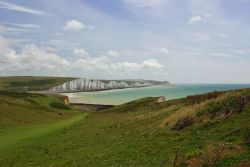 Seaford Head towards the Seven Sisters