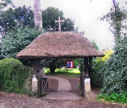Brundall Church Lychgate
