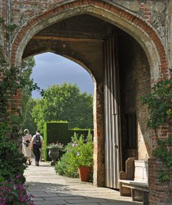 Gateway to Sissinghurst Castle, Kent