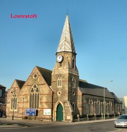 Christ Church, Lowestoft.