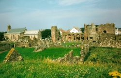 A View of Lindisfarne Priory