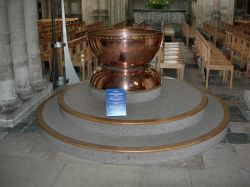 Norwich Cathedral Font.