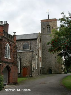 Part of St Helens Church