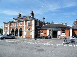 Rye station and the fat controller cafe