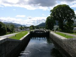 Neptune's Staircase near Fort William