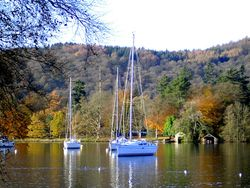 Autumn colours from Bowness Bay.