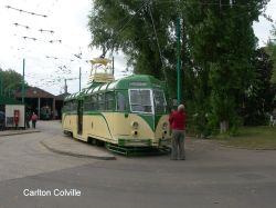 At Carlton Colville Transport Museum