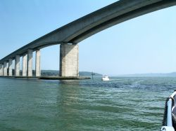Under the Orwell Bridge