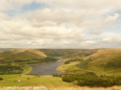 A view of Dovestones, Greenfield