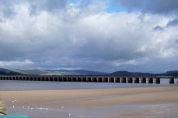 The Arnside railway bridge