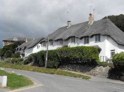 Beautiful thatched building