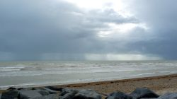 A stormy day at Shoreham