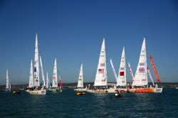 Start of the Clipper Round the World Race - Aug 2009