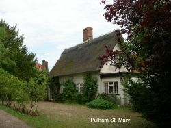 Thatched Cottage in Pulham St Mary.