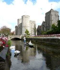 Westgate and Guildhall Canterbury.