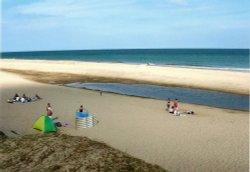 The beach at Winterton