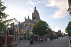 Chester Town Hall on Northgate Street, August 2009