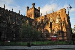 Chester Cathedral - August 2009