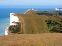 Looking west from Beachy Head