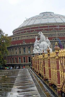 Royal Albert Hall, October 2008