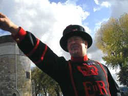 Beefeater Tour Guide Wallpaper