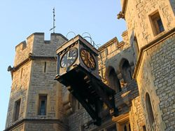 Entrance to Crown Jewels Wallpaper