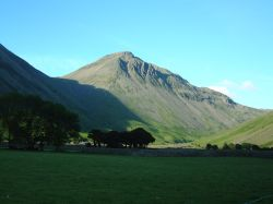 Wasdale with Great Gable and Parish Church