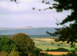 View from Trelawne Manor.