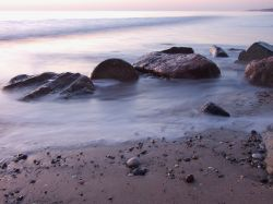 Mappleton beach at sunrise