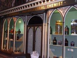 Victorian street: Pharmaceutical Chemist