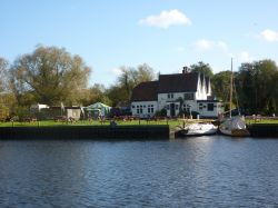 Looking across the River Yare to Surlingham