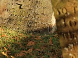 Gravestones, St Mary's Church, Twyford, Bucks
