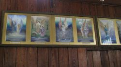 Pictures in the Church Wallpaper