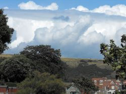 Cloud over Swanage