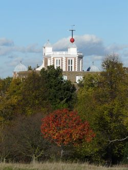 The Royal Observatory in Autumn
