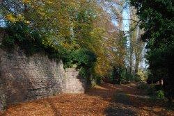 Leicester Abbey's precinct walls