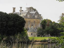 First glimpse of Beaulieu Palace House