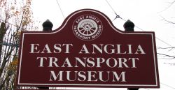 East Anglia Transport Museum sign