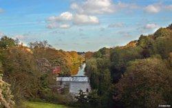 Avoncliff Weir, Wiltshire