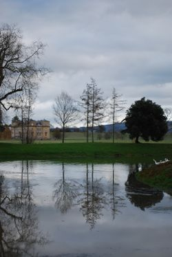 Croome Park lake