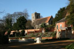 Caversham Court Gardens and St. Peter's Church