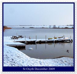 St Osyth in the snow 2009