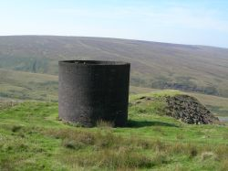 North Western Railway - Standedge tunnel ventilation shaft.