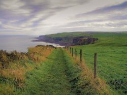 Looking towards Robin Hoods bay