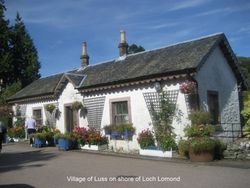 Village of Luss, Scotland