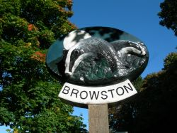 Browston Village Sign