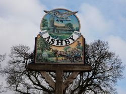 Ashby Dell, Village Sign