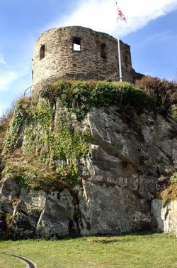 St Catherine's Castle.