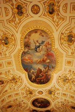 Ceiling in Witley Church